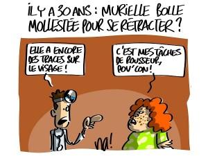 Affaire Gregory : Murielle Bolle molestée pour se rétracter ?