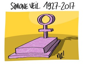 Simone Veil est décédée