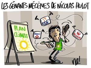 Nicolas Hulot présente son plan climat