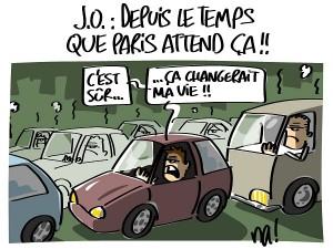 J.O. depuis le temps que Paris attend ça !