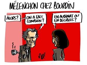 Mélenchon chez Bourdin