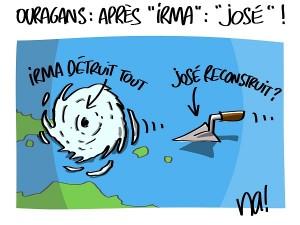 Ouragans, après «Irma» : «José»