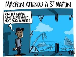 Macron attendu à St Martin