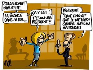 Macron à l'épreuve de la rue