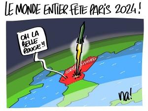 Le monde entier fête Paris 2024