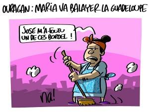 Ouragan : Maria va balayer la Guadeloupe