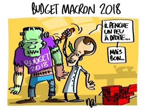 Budget Macron 2018
