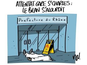 Attentat Gare St Charles : le bilan s'alourdit
