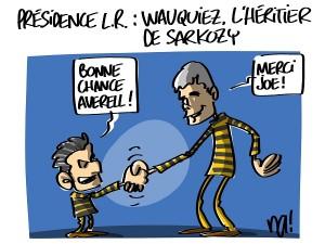 Wauquiez, l'héritier de Sarkozy