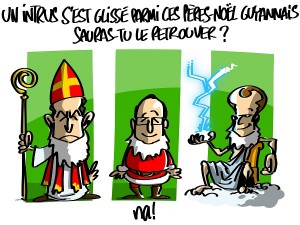 """Guyane : Macron """"n'est pas le père Noël"""""""