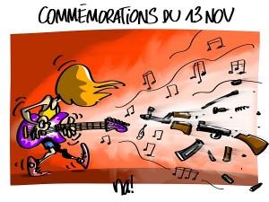Commémorations du 13 novembre