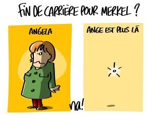 Fin de carrière pour Merkel