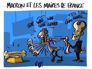 Macron et les Maires de France