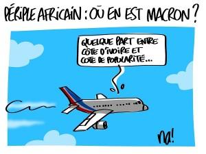 Périple africain : où en est Macron ?