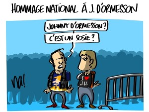 Hommage national à Jean d'Ormesson