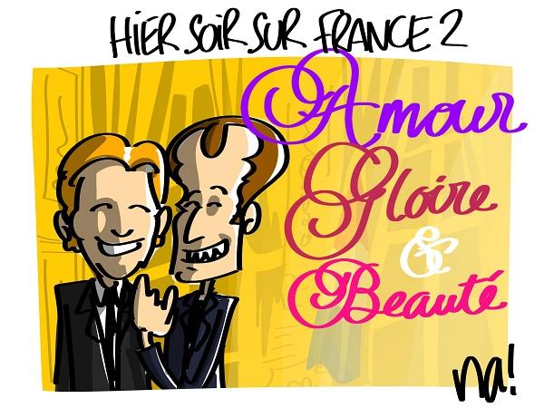 Macron hier soir sur France 2