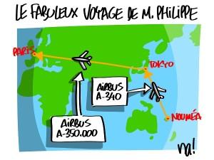 Le voyage à 350.000 euros d'Edouard Philippe