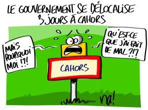 le gouvernement délocalisé 3 jours à Cahors