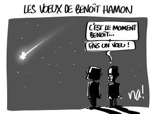 Les voeux de Benoit Hamon