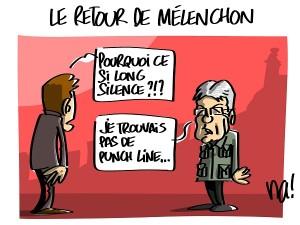 Le retour de Mélenchon