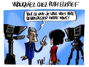 Laurent Wauquiez chez Ruth Elkrief