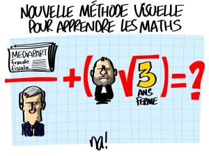 Cahuzac et mathématiques