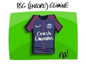 PSG éliminé