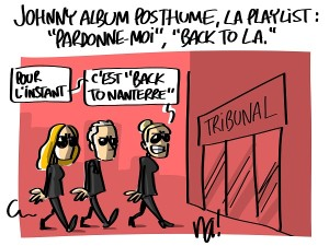 johnny : playlist posthume et tribunal
