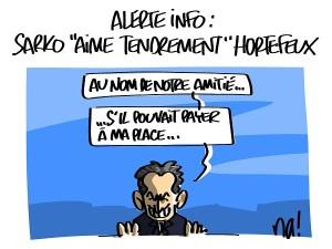 Sarkozy sous contrôle judiciaire