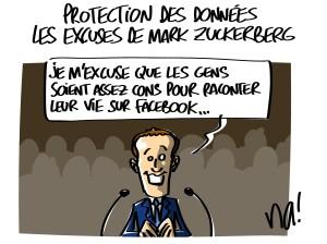 Protection des données, les excuses de Mark Zuckerberg