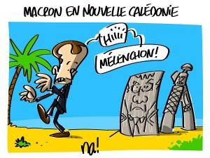 Macron en Nouvelle Calédonie