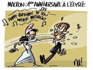 Macron : 1er anniversaire à l'Elysée