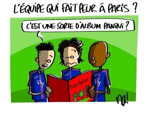 Les Herbiers vs PSG
