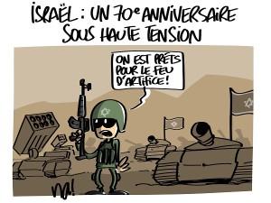 Israël : 70ème anniversaire sous haute tension