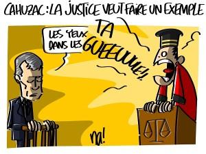 Cahuzac, la justice veut faire un exemple