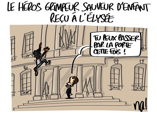 Le dessin du jour (humour en images) - Page 16 2304_mamoudou_gassama