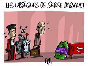 Les obsèques de Serge Dassault