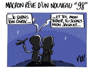 Macron rêve d'un nouveau «98″