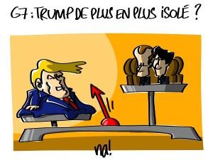 G7 : Trump de plus en plus isolé ?