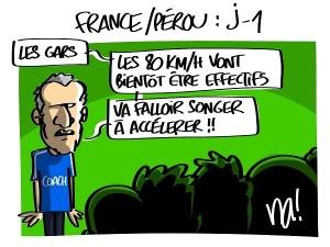 France Pérou J-1