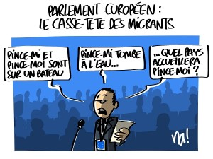 Europe : le casse-tête des migrants
