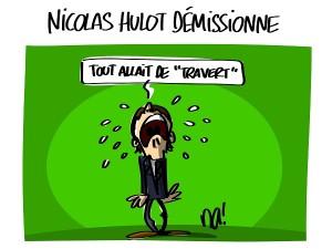 Nicolas Hulot démissionne