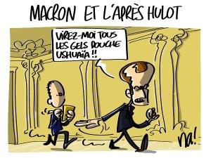 Macron et l'après Hulot
