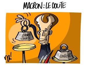 Macron : le doute