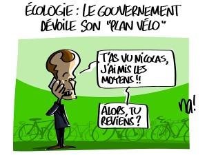 Le plan vélo du gouvernement