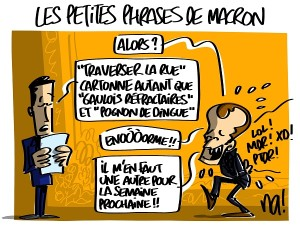 les petites phrases de Macron