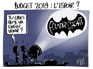 budget 2019 : l'espoir ?