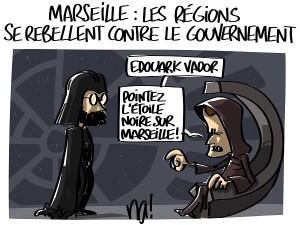 Marseille : les régions se rebellent contre le gouvernement