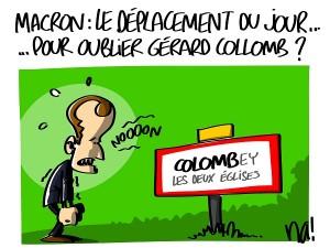 Macron tente d'oublier Collomb ?