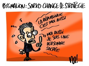 Bygmalion : Sarkozy change de stratégie